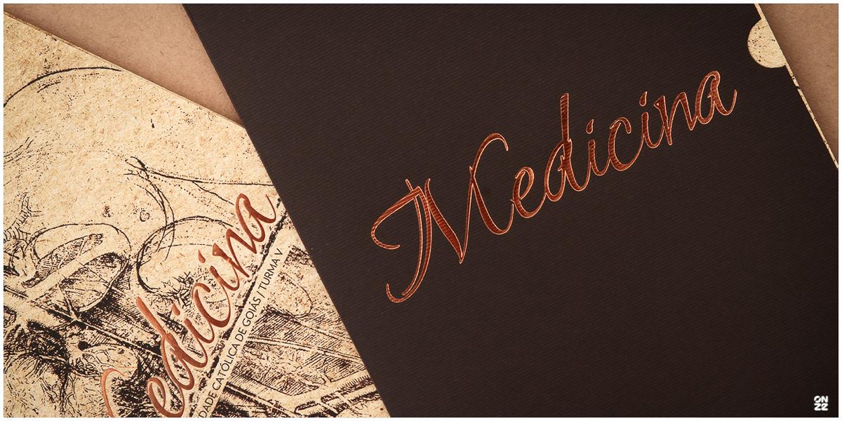 Convite de Formatura | MED 5 PUC